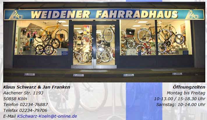 Weidener-Fahrradhaus