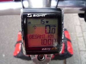 1000 km gefahren