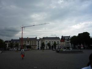 Gewitterfront über Tienen