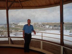 Hans vor dem Panorama Mesdag