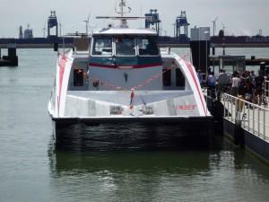 Speedbootfähre Hoeg von Holland