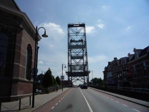 die Hubbrücke von Boskoop