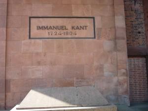 Grabmahl Immanuel Kant am Königsberger Dom