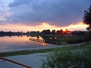 Sonnenuntergang in Meidzychod