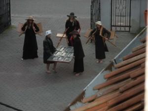 Theaterprobe in Dzierzgon