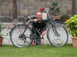 auch Radpflege muss sein