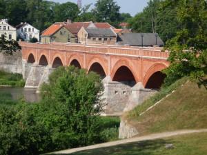 Backsteinbrücke in Kuldiga
