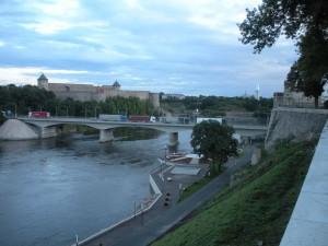 Festung Iwangorod mit russischer Grenzstation