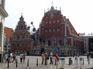 das Schwarzhäupterhaus in Riga