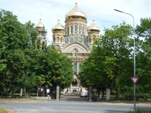 die orthodoxe Marienkathedrale des heiligen Nikolai von 1903