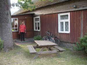 unser Oma ihr klein Häuschen in Pavilosta