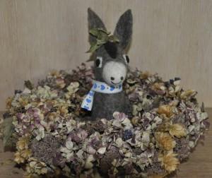 Donkey im Siegerkranz