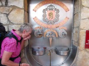 Anne am Weinbrunnen