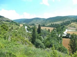 Ausläufer der Pyrenäen