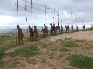 Pilgerdenkmal auf Perdón