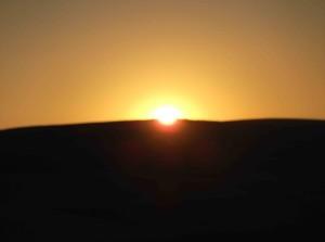 Sonnenaufgang bei Tardajos