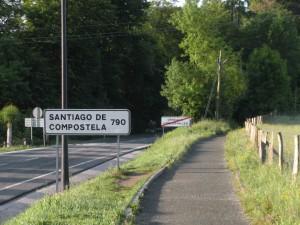 Wegweiser in Roncesvalles