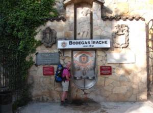 Weinbrunnen Irache